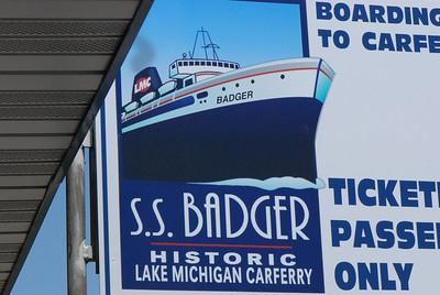 2011 06 26:  USS Badger, crossing Lake Michigan, US