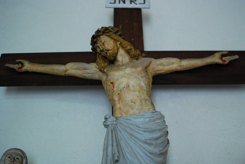 Jesus Christ in St. Niclaus Church in Bensberg