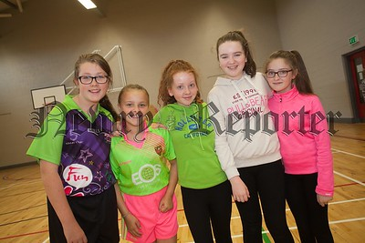 Katie O'Hare, Eabha Fallon, Megan Andrews, Ellie Hughes and Therese Doolan. R1632006