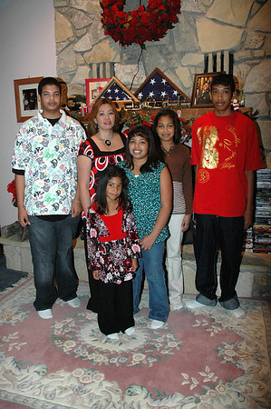 The Cottner Family Christmas Dec 2007