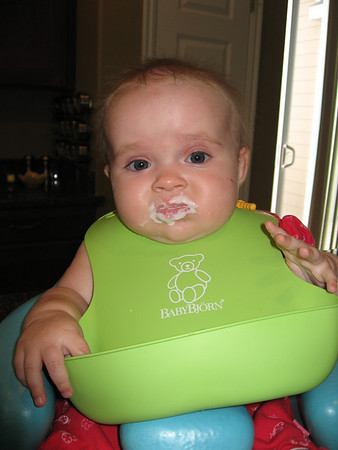 Aurelia Eating Sept 08