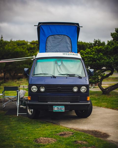 Wet Westies Nehalem Bay Camping Trip