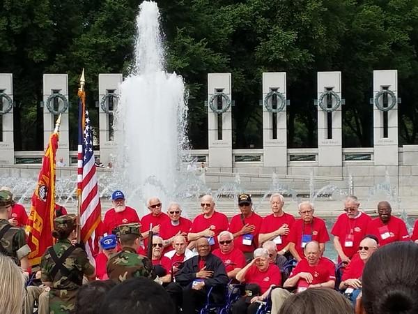 WWII Memorial May 2018