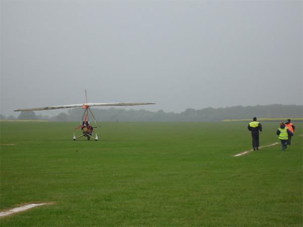 Checking landing distance