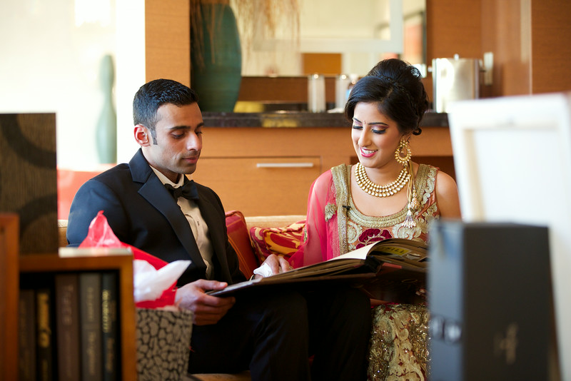 Le Cape Weddings - Indian Wedding - Day 4 - Megan and Karthik Exchanging Gifts 11.jpg