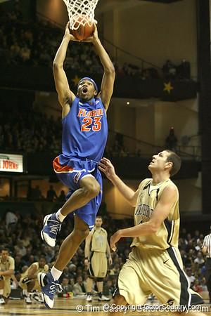 UF Men's Basketball at Vanderbilt, 2/16/08