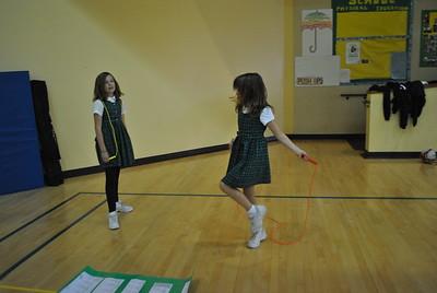 4th Grade Play Jump rope| Oct.11, 2011