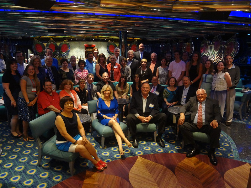 Our members and guests at the 2013 Annual Meeting onboard Carnival Glory.