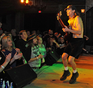 AC/DC Tribute Band Plays Revel