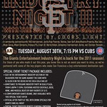 SF Giants Industry Night Part 2 @ Seals Plaza 8.31.11