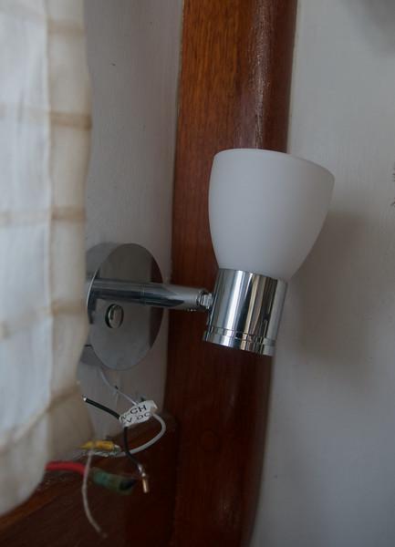 Test fit new lights