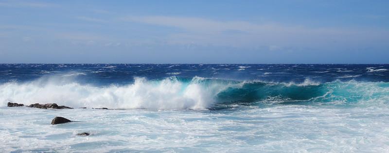 Waves at Ka Lae