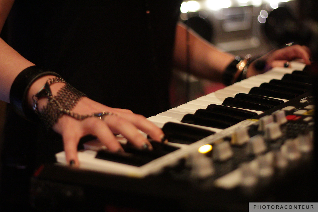 Dallin Applebaum, keyboardist and backup vocalist for Ryan Star.  See the full gallery HERE