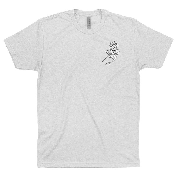 Organ Mountain Outfitters - Outdoor Apparel - Mens T-Shirt - Desert Rose Tee - White Front.jpg
