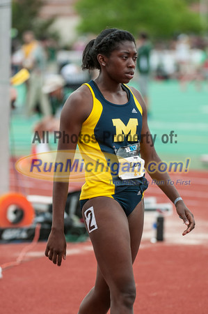 BIG10 400M Women Final - 2015 Big Ten Outdoor