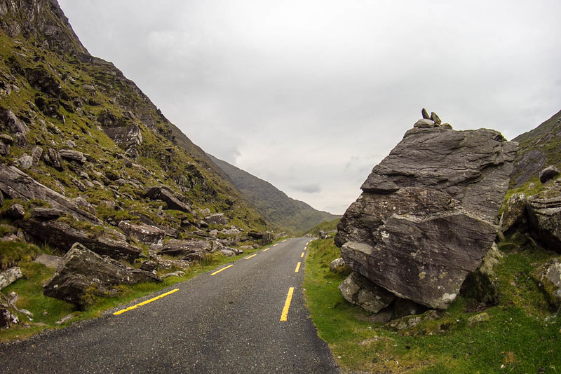 Conor Pass on Dingle Peninsula