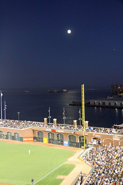 BASEBALL PARKS - AT&T PARK - SAN FRANCISCO GIANTS