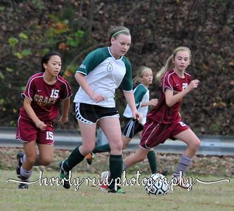 2010 110210 Grace vrs. Silverdale (MS Girls Soccer)