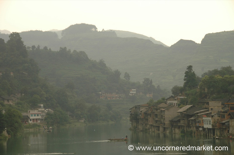 Chinese Landscape, Chong'an - Guizhou Province, China