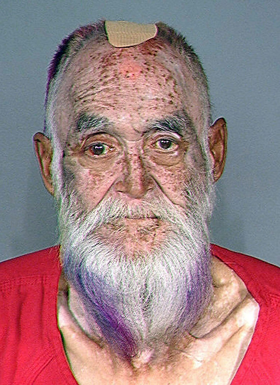. This booking photo released Tuesday, Oct. 16, 2012 by the Maine State Police shows Gary Raub, formerly of Maine, who was arrested in Seattle Monday, Oct. 15 2012,  for the 1976 stabbing death of a 70-year-old woman after DNA linked him to the crime. (AP Photo/Maine State Police)