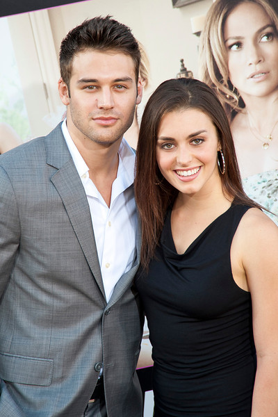 HOLLYWOOD, CA - MAY 14: Actor Ryan Guzman and Actress Kathryn McCormick arrive at the Lionsgate Premiere of 'What To Expect When You're Expecting' at Grauman's Chinese Theatre on May 14, 2012 in Hollywood, California. (Photo by Tom Sorensen/Moovieboy Pictures)