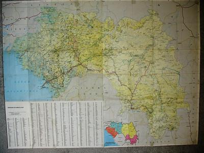 Guinea Maps