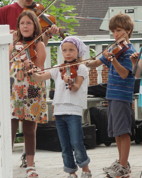 Young Talent at Lunenburg Folk Art Festival