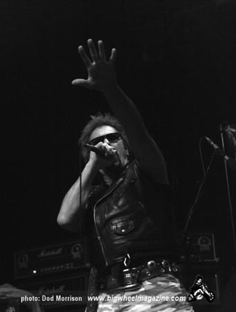 Anti-Nowhere League - at The 02 Academy - Glasgow, Scotland - November 11, 2011