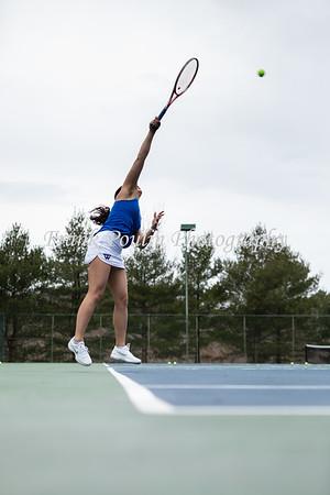 Wellesley College tennis 3/29/2019