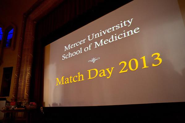 Match Day Macon 2013