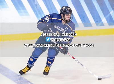 1/31/2016 - Boys Varsity Hockey - Malden Catholic vs BC High