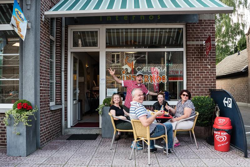 Day 1 - frietjes in Swalmen, July 4th