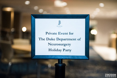 Duke Neurosurgery & Neurology Holiday Party | Roaming Photography
