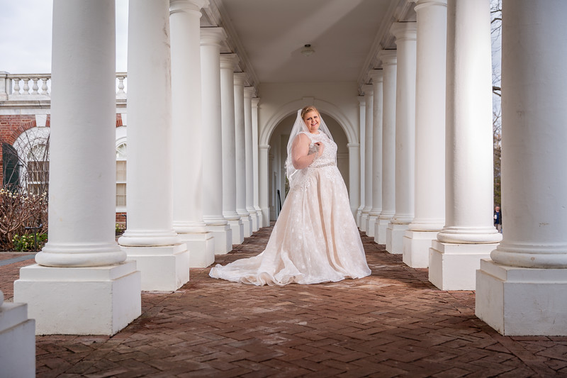 Keston | Bridal Session at The University of Virginia