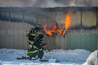 North Reading, MA 2nd Alarm - Rear of 38 Main St - 3/7/19