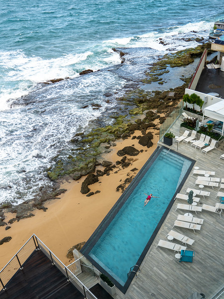 Serafina Beach Hotel pool