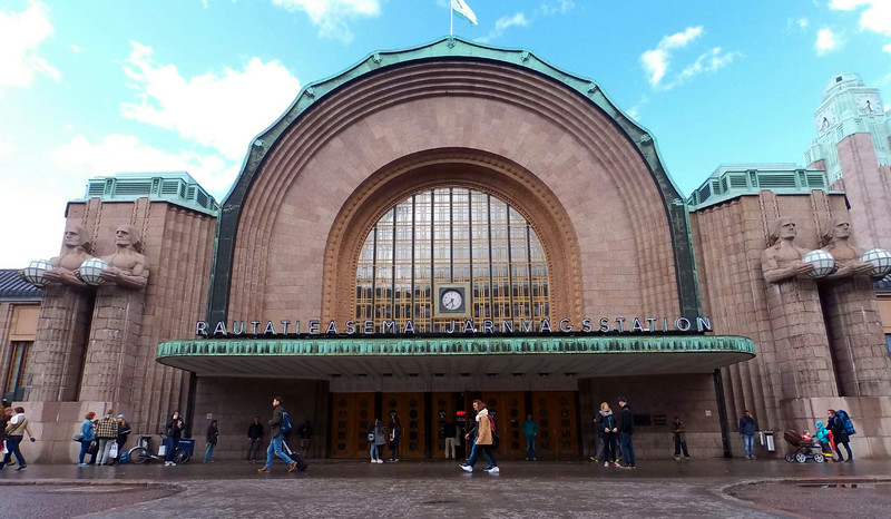 Helsinki Central Railway Station.  May 2015