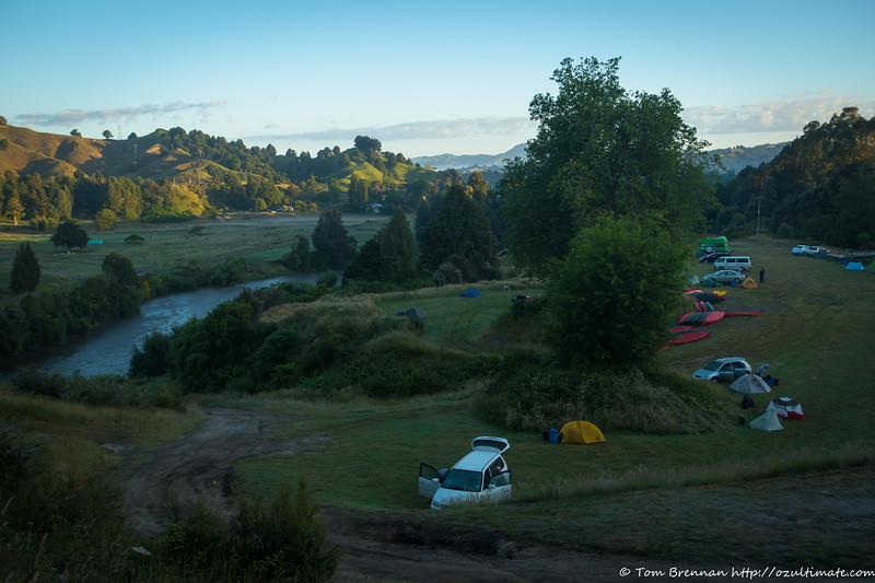 Taumarunui Canoe Hire campsite