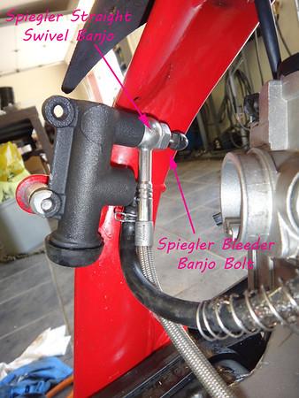 Left-Side Rear Brakes