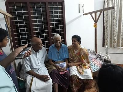 Appachan india visit summer 2018