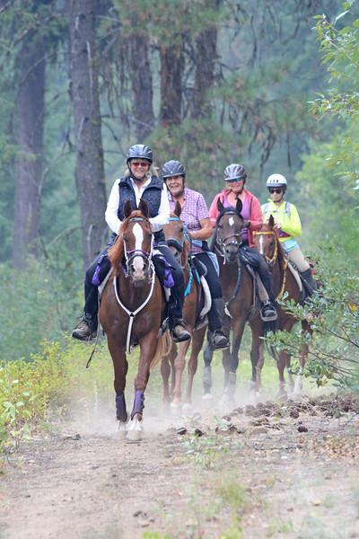 Old Selam endurance ride in Idaho