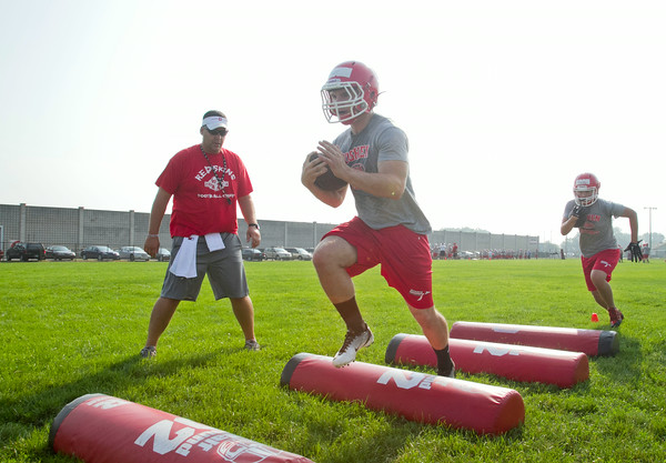 2014 High School Football Practice
