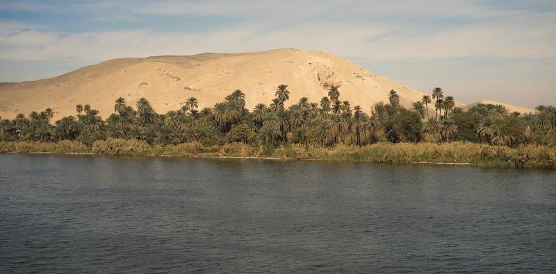 El Nilo y el desierto