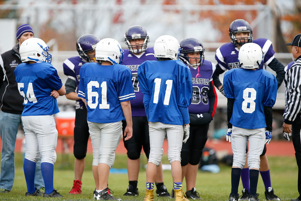 2016 Lawrence 7th grade football Vs. Waterville
