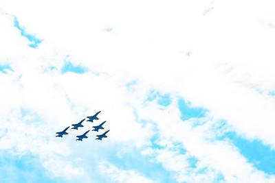 Blue Angels Flyover
