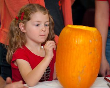 Pumpkin Decorating & Chili Cook-off 10-29-14