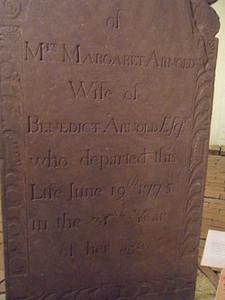 Margaret Mansfield Arnold Grave