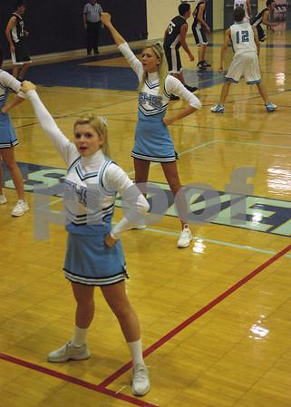 12/15/06 Livonia Stevenson V Cheerleaders and Boy/Girl Poms at the Basketball Game