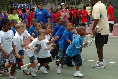 Tennis Camp June 23, 2006