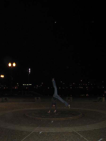 Stacee Calderon - Salmon Street Springs Fountain, Portland, OR - 02/2008